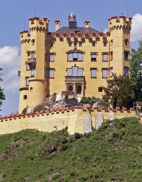 Burg-Hohen-Schwangau-Germany
