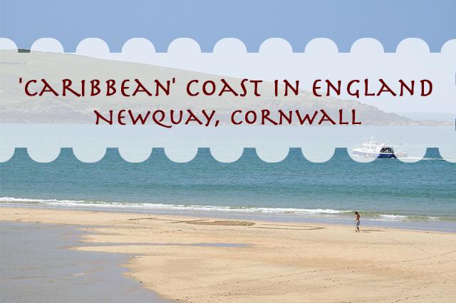 'Caribbean' Coast In England – Newquay, Cornwall