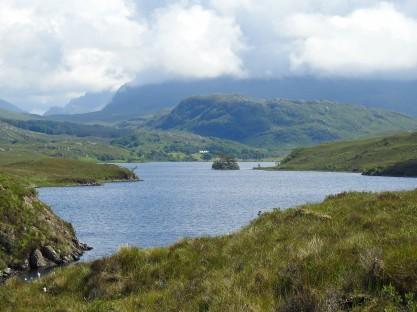 Loch a' Mhill Dhuibh