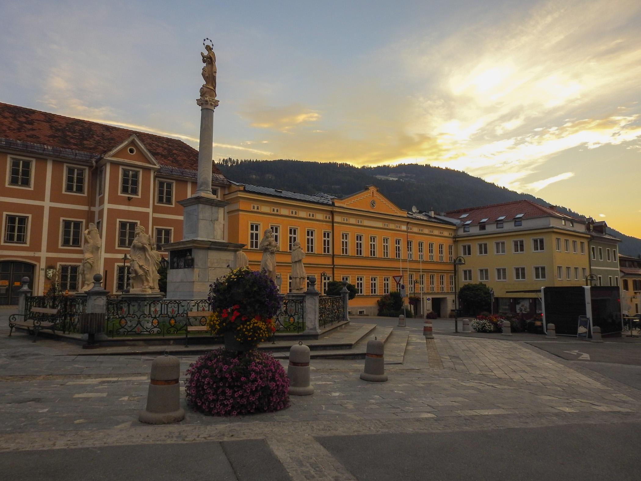 Schillerplatz, Murau