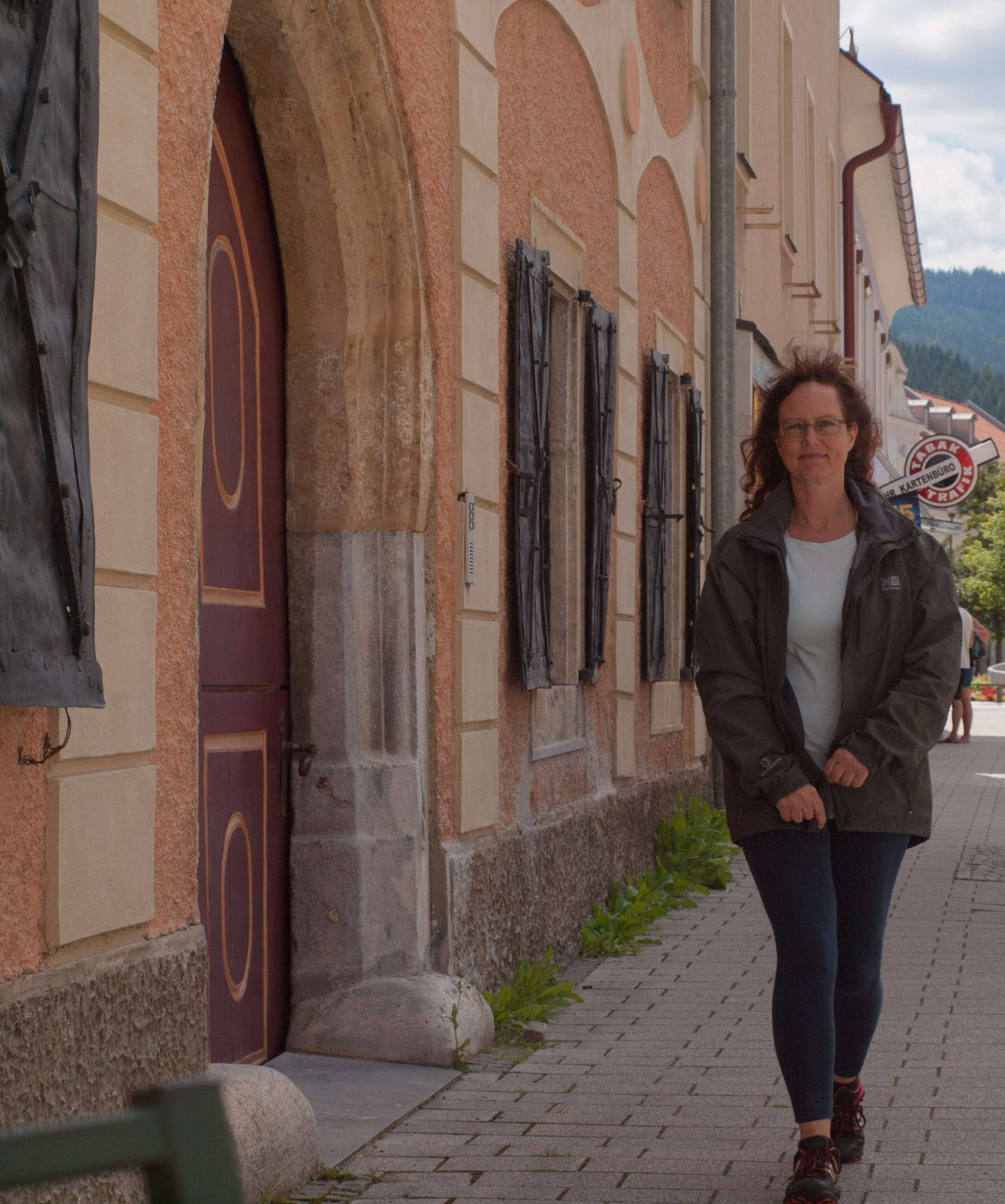 Walk through quaint Styrian Town