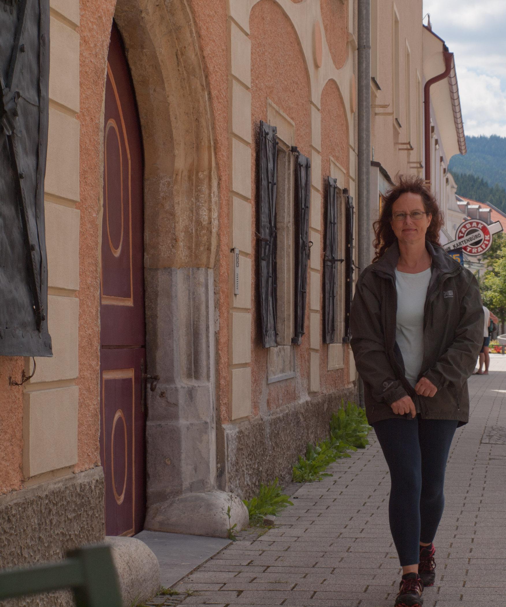 Walk through quaint Styrian Town
