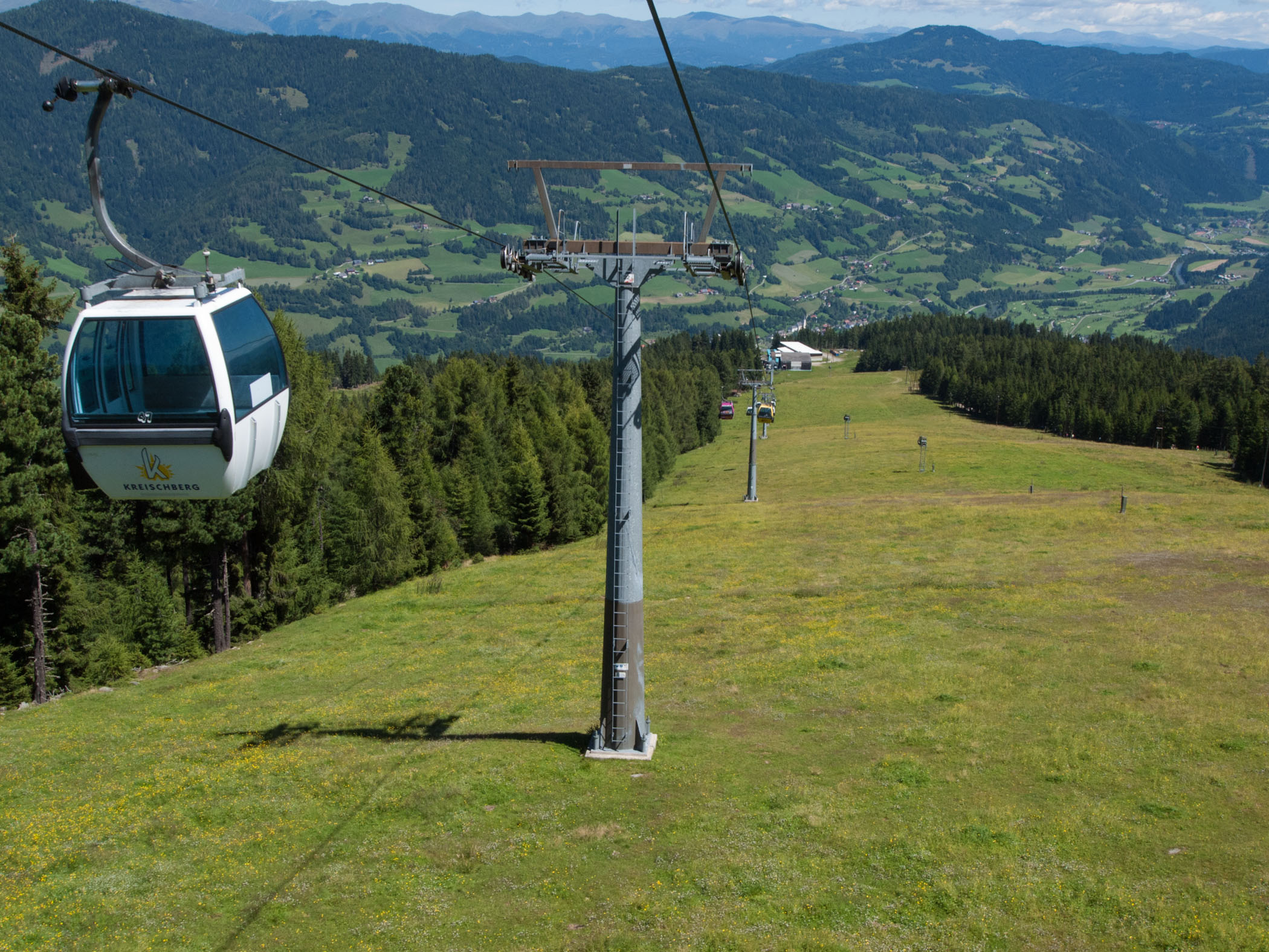 Cable car Kreischberg - Murau