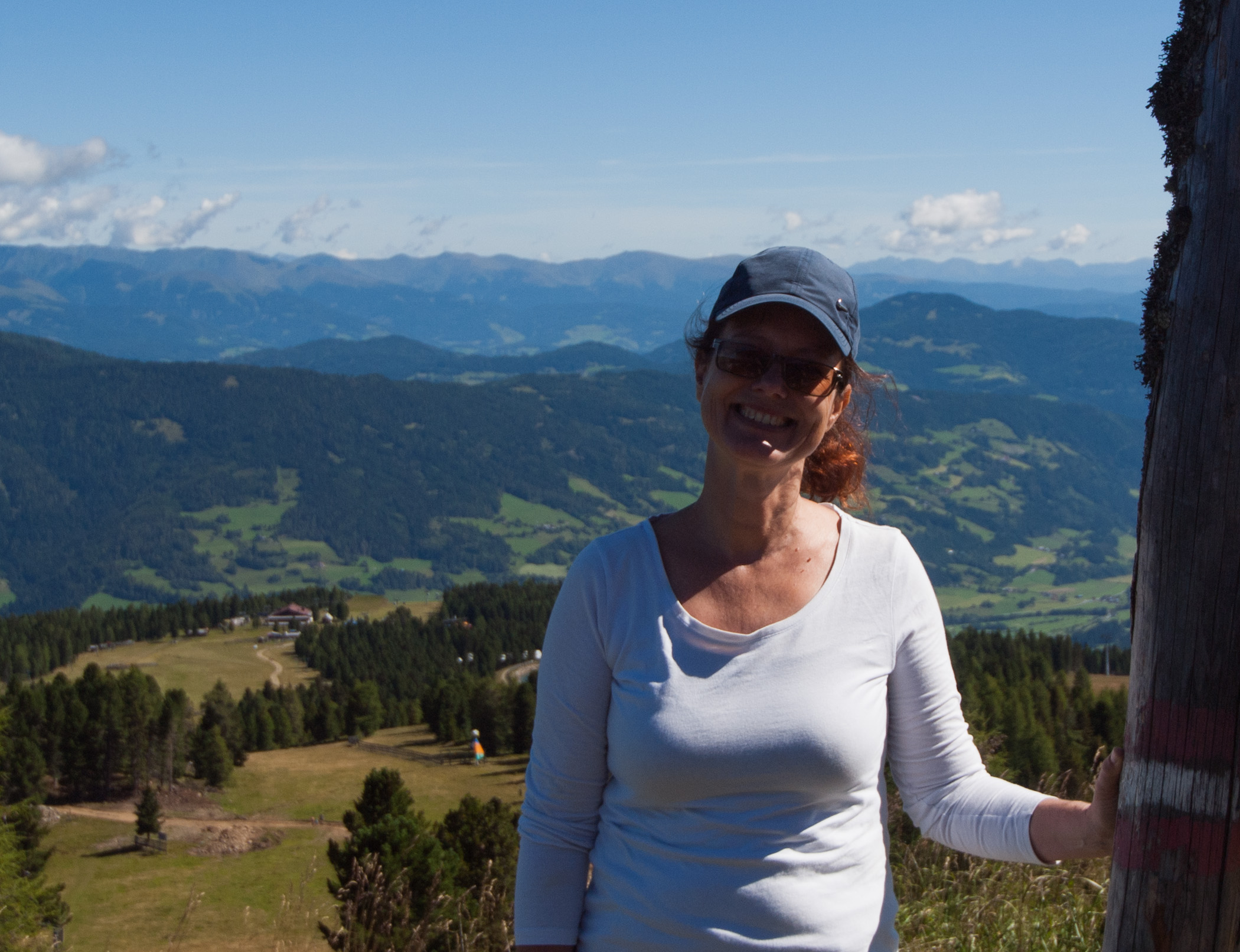Enjoying the sun and views in the Kreischberg - Murau region