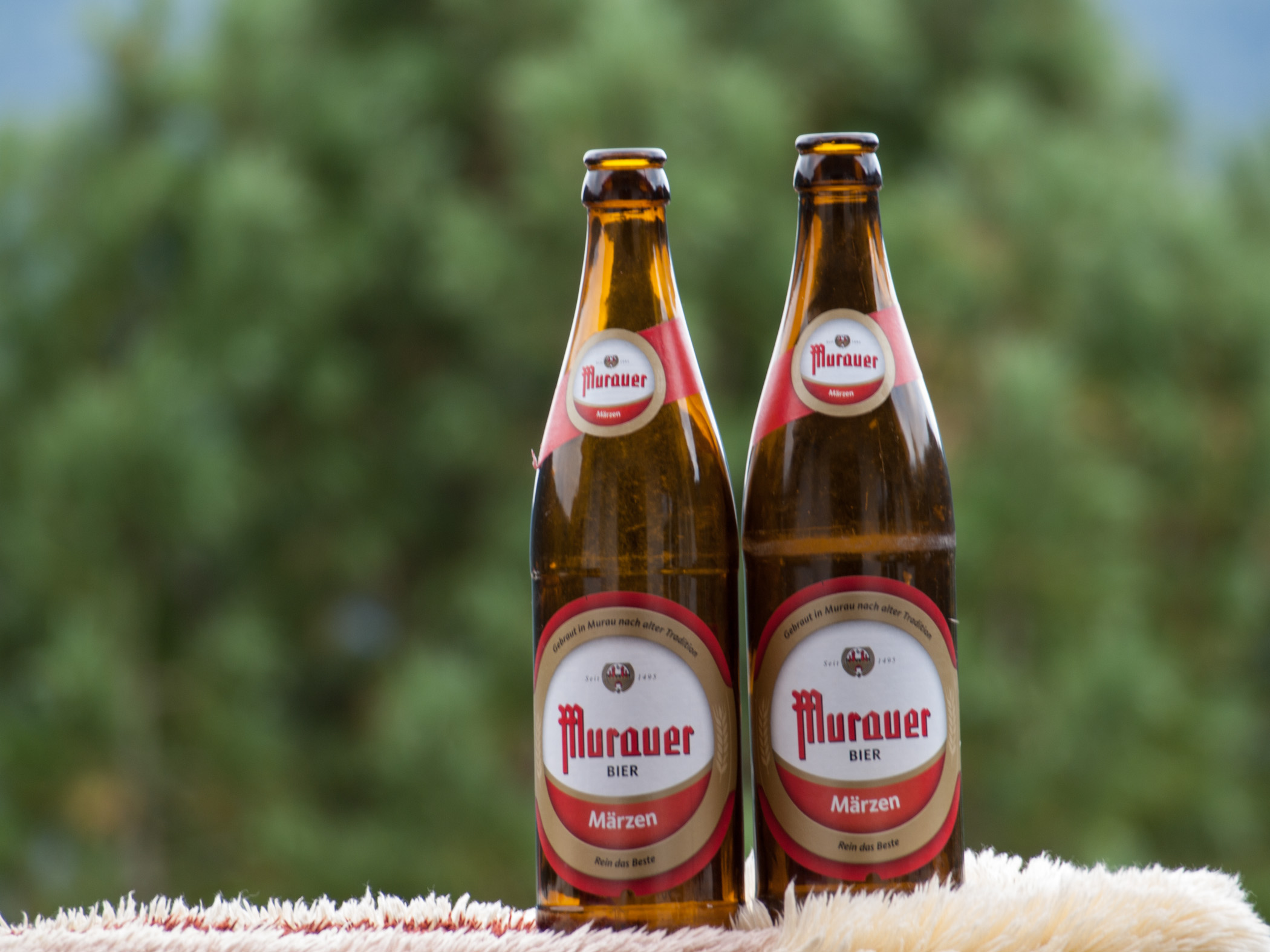 Murauer Beer sold all over Austria