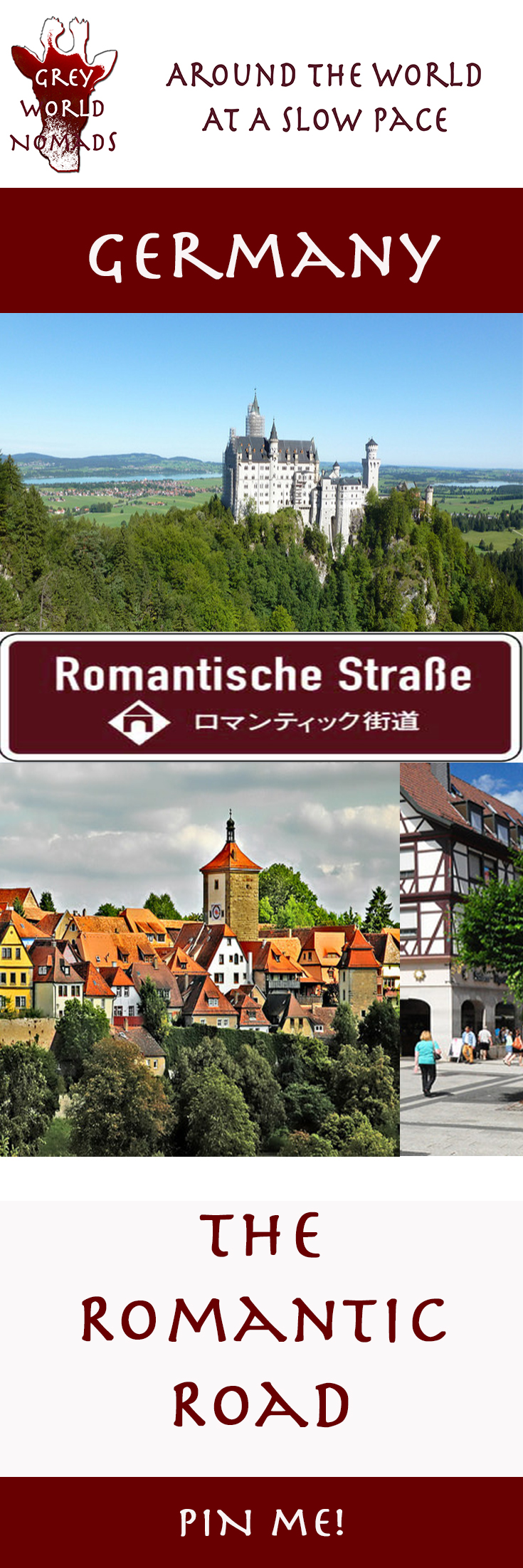 The Romantic Road In Germany