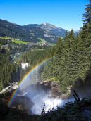 Aussicht über den Krimmler Wasserfällen
